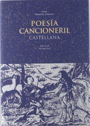 9788446002680: Poesía cancioneril castellana (Nuestros clásicos)