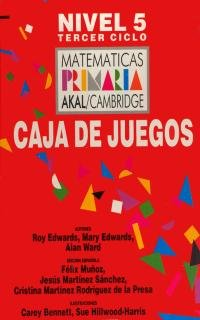 9788446002758: Matemáticas Primaria 5 Caja de Juegos. (Matemáticas Akal/Cambridge) - 9788446002758