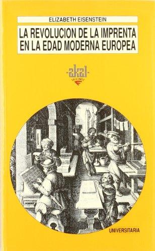 9788446002802: La revolución de la imprenta en la edad moderna europea