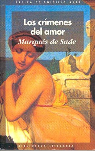 9788446003694: Los crimenes del amor / Crimes of Love