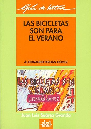 9788446004523: Las Bicicletas Son Para El Verano