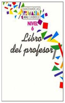 9788446005377: Matemáticas Primaria 6 Libro del Profesor. (Matemáticas Akal/Cambridge)
