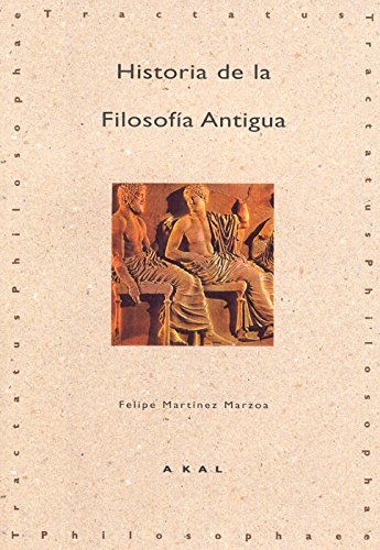 9788446005520: Historia de la filosofia antigua / History of Ancient Philosophy (Tractatus Philosophae) (Spanish Edition)