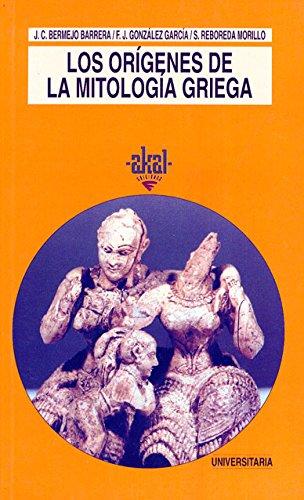 9788446005803: Los origenes de la mitologia griega / The Origins of Greek Mythology (Universitaria) (Spanish Edition)