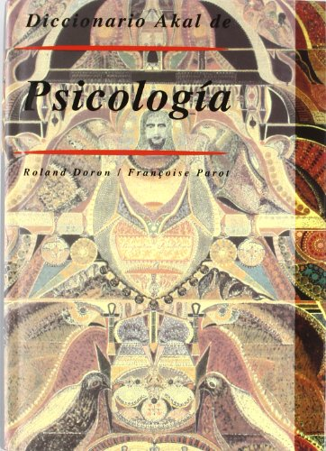9788446006237: Diccionario Akal de Psicología (Diccionarios)