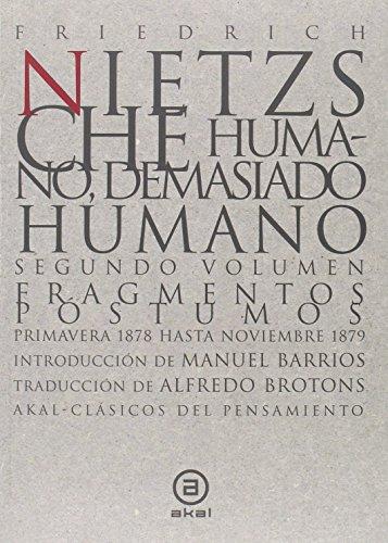 9788446006350: HUMANO DEMASIADO HUMANO (Spanish Edition)