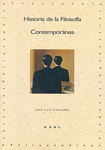 9788446007036: Historia de la Filosofía Contemporánea: 6 (Tractatus philosophiae)