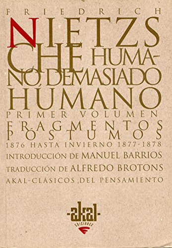 9788446007364: 2: Humano, demasiado humano/ Human, too Humane (Spanish Edition)