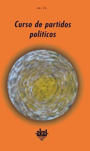 CURSO DE PARTIDOS POLITICOS: José Vilas Nogueira;