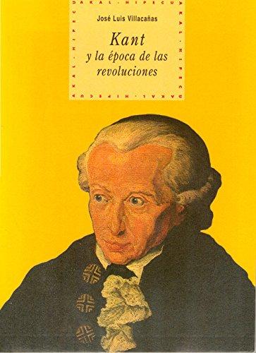 9788446008064: Kant y la época de las revoluciones (Historia del pensamiento y la cultura)