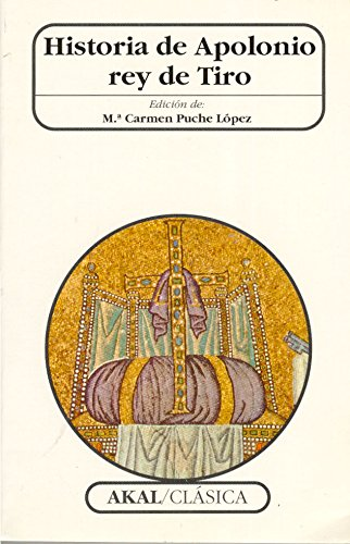 9788446008101: Historia de Apolonio rey de Tiro (Clásica)