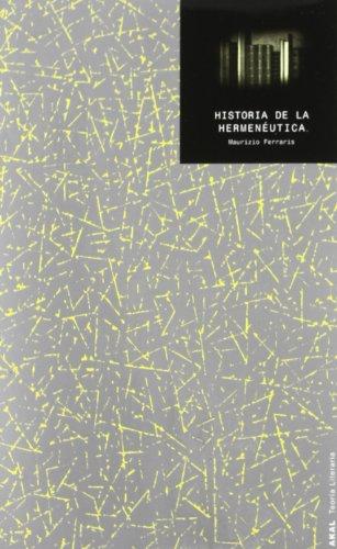 9788446009955: Historia de la hermen�utica