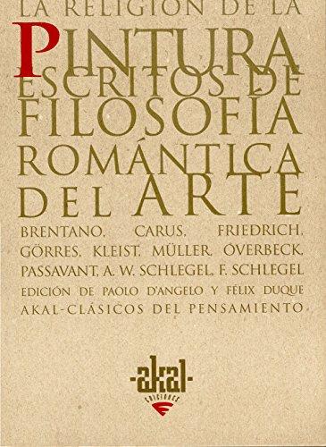 La Religion de La Pintura (Paperback): Clemens Brentano