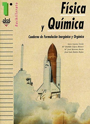 Física y química, 1 Bachillerato. Cuaderno de: Moreno Recio, María