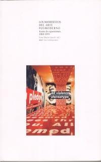 9788446011101: Los manifiestos del arte posmoderno (Arte contemporáneo)