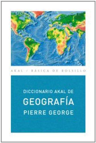 9788446012573: Diccionario de Geografía (Ed. Económica) (Básica de Bolsillo)