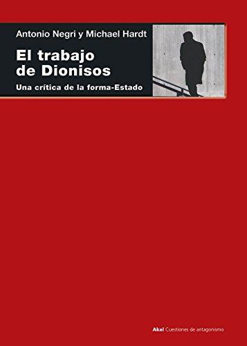 9788446012924: El Trabajo De Dionisos (Cuestiones de antagonismo)