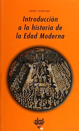9788446015703: Introduccion a la historia de la edad Moderna / Introduction to the History of Modern Age (Universitaria) (Spanish Edition)