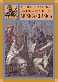 9788446016137: Antología de la música clásica