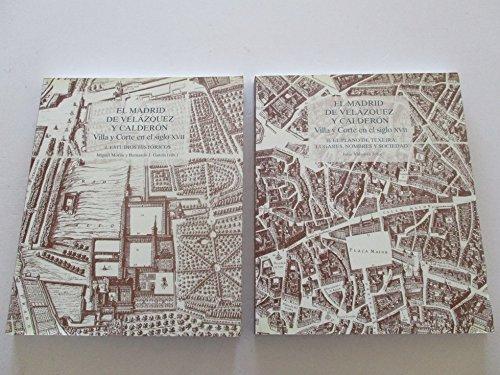 9788446016199: EL MADRID DE VELAZQUEZ Y CALDERON tomo 2 villa y corte en el siglo XVII-incluye CD-Rom [Paperback] [Jan 01, 2000] julio vidaurre jofre