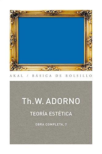 9788446016700: Teoría estética: Obra completa 7 (Basica De Bolsillo/ Pocket Basic) (Spanish Edition)