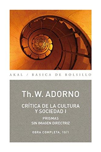 9788446016748: Crítica de la cultura y sociedad I: 71 (Básica de Bolsillo)
