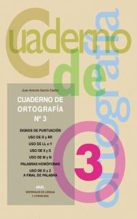 9788446017011: Cuadernos de ortografía 3 (Materiales de lengua y literatura)