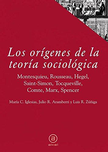 9788446017738: Los orígenes de la teoría sociológica (Textos)