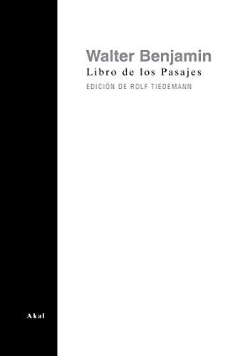 9788446019015: Libro de los pasajes/ The Arcades Project