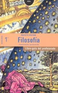 9788446019640: Filosofía 1º Bachillerato. Libro guía del profesorado. Contiene disquette con proyecto curricular (Enseñanza bachillerato)