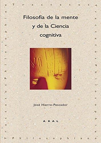 9788446022299: Filosofía de la mente y de la ciencia cognitiva (Tractatus philosophiae)