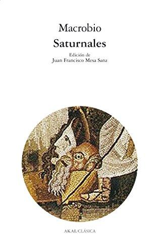 9788446023074: Saturnales (Clásica)