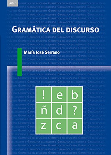9788446023548: Gramática del discurso / Grammar of Speech (Spanish Edition)