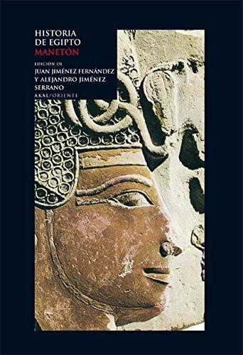 9788446025511: Historia de Egipto (Oriente)