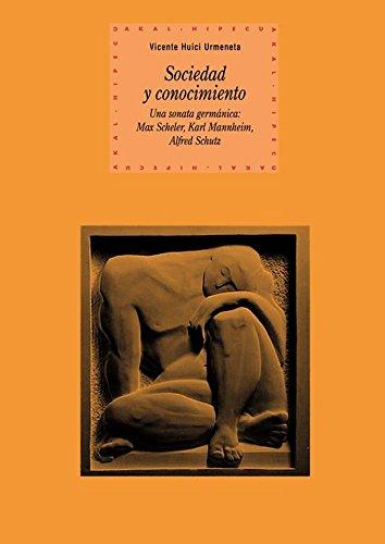 9788446025566: Sociedad y conocimiento / Society and Knowledge (Spanish Edition)