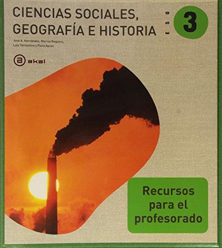 9788446027300: Ciencias sociales, 3 ESO. Libro del profesor