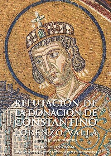 9788446028291: Refutacion de La Donacion de Constantino