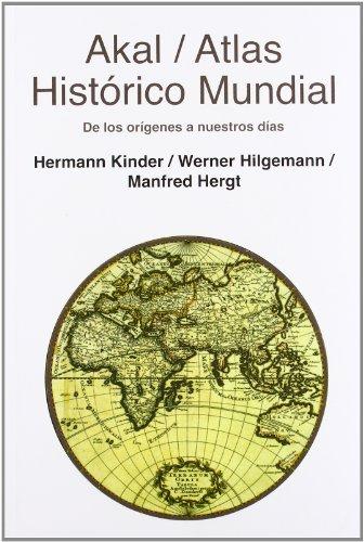 9788446028383: Atlas histórico mundial (Atlas Akal)