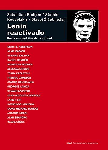 9788446028697: Lenin reactivado: Hacia una política de la verdad (Cuestiones de antagonismo)
