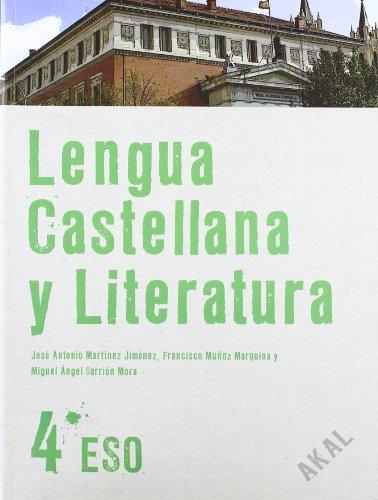9788446029403: Lengua Castellana y Literatura 4º ESO (Enseñanza secundaria) - 9788446029403