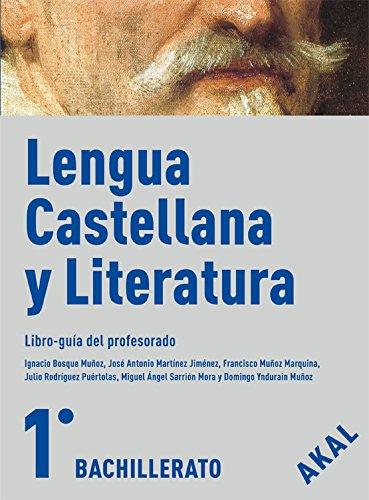 9788446029694: Lengua Castellana y Literatura 1º Bachillerato