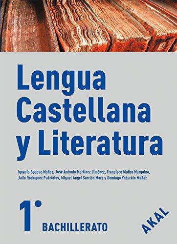 9788446029700: Lengua castellana y Literatura 1º Bachillerato (Enseñanza bachillerato) - 9788446029700
