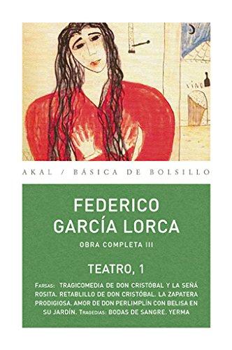 9788446029762: Obras III. Teatro I Federico García Lorca