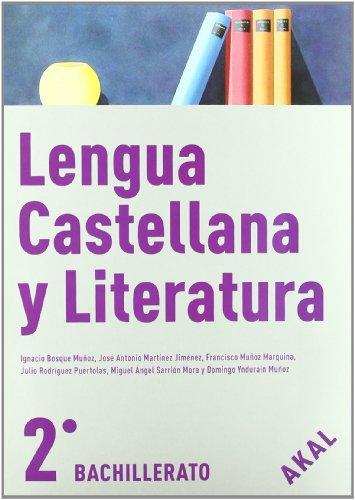 9788446030058: Lengua Castellana y Literatura 2º Bach. (Enseñanza bachillerato) - 9788446030058