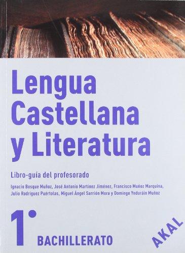 9788446030126: Lengua castellana y Literatura 1º Bachillerato (Enseñanza bachillerato) - 9788446030126