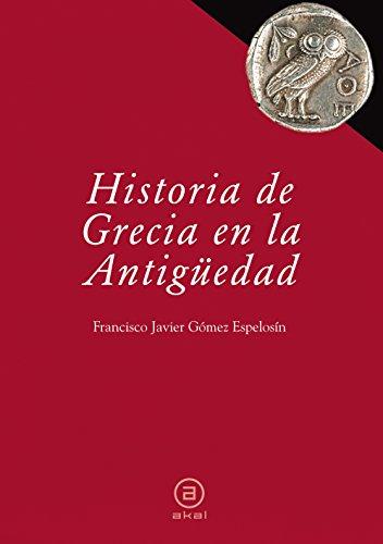 9788446030447: Historia de Grecia en la Antig�edad
