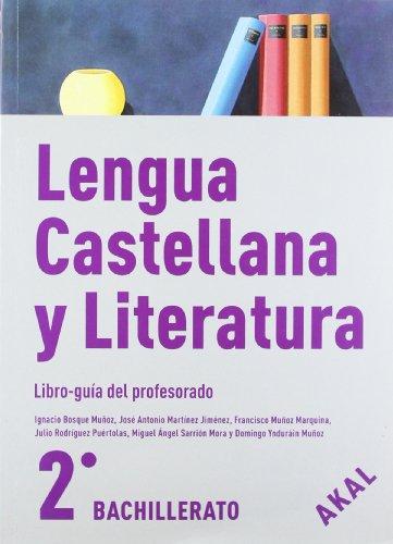 9788446030645: Lengua Castellana y Literatura 2º Bach. (Enseñanza bachillerato) - 9788446030645