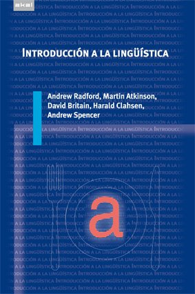 9788446030720: Introducción a la lingüística (Universitaria)
