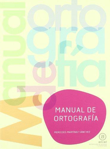 9788446031406: Manual de ortografía