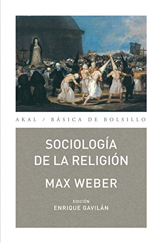 9788446031437: Sociología de la religión (Spanish Edition)